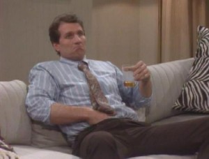 Al Bundy, hand in pants