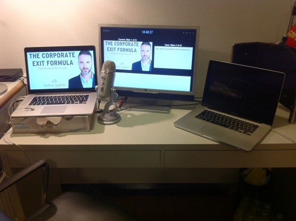 Google Hangouts on Air webinar setup