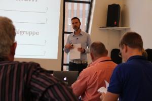 Rasmus at Lifestyle Entrepreneur Bootcamp
